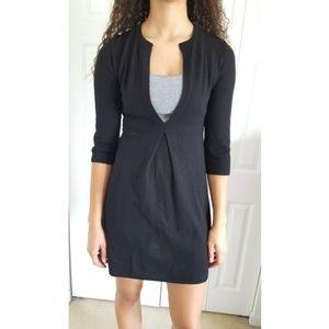 J. Crew Cashmere Wool Deep V Sweater Dress M